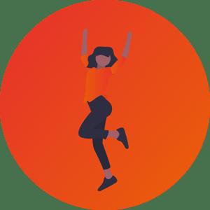 image femme qui fait de l'exercice